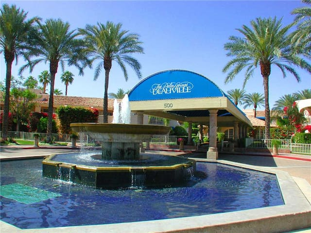 High end, completely remodeled condo just steps from downtown Palm Springs! One of our absolute best - Deauville Delight