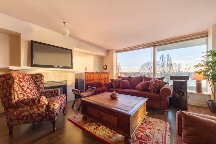3 BED , Beach Home with stunning view + Parking - Vancouver - Huoneisto