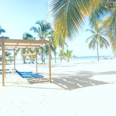 Ocean view and steps from Boca Chica Beach!