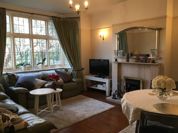 Comfy double room in a lovely area