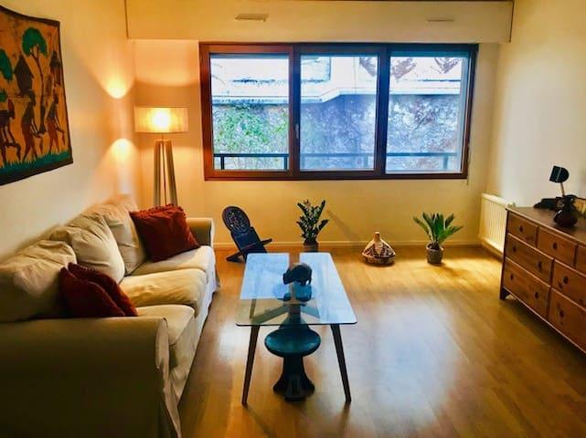 Appartement en plein coeur de la Butte-aux-Cailles