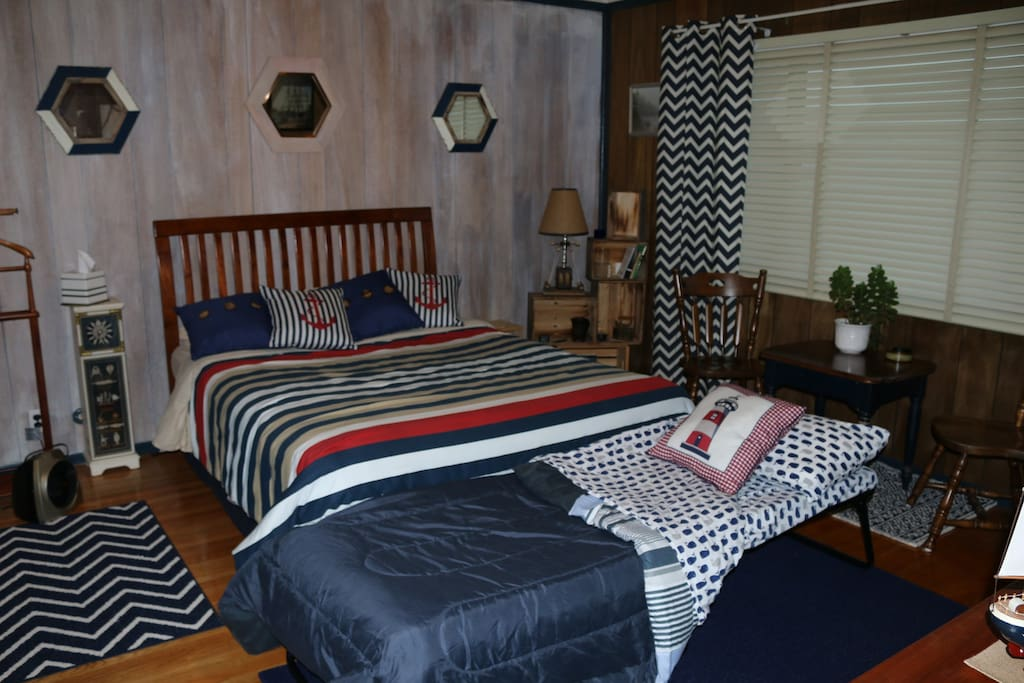 Spacious room that allows adding a single bed on request.