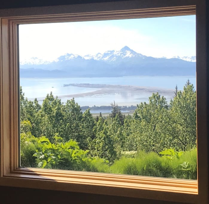 Your view of famous Kachemak Bay & Homer Spit