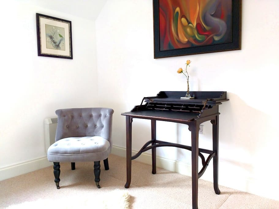 Guest room writing desk