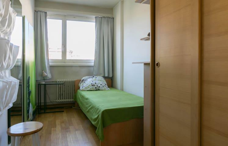 Charmante chambre lumineuse au centre de Genève