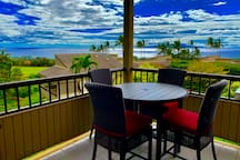 This is the actual view from the Lanai!  180* view.  Come enjoy yourselves...