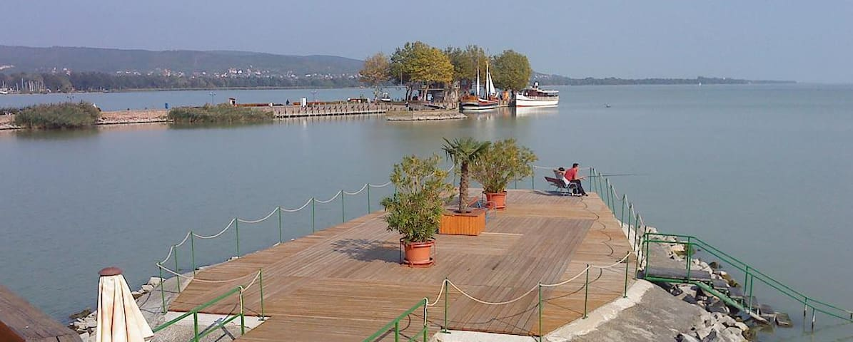Balaton West - sweet Region with much Thermalwater - Gyenesdiás