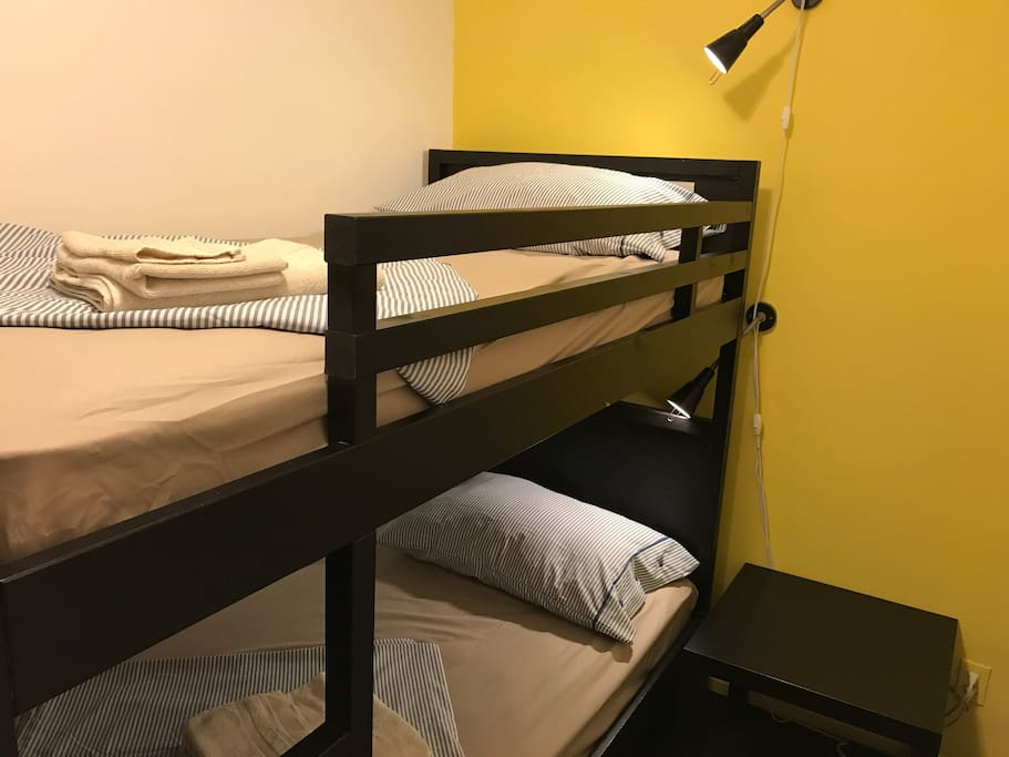 Additional room with bunk bed