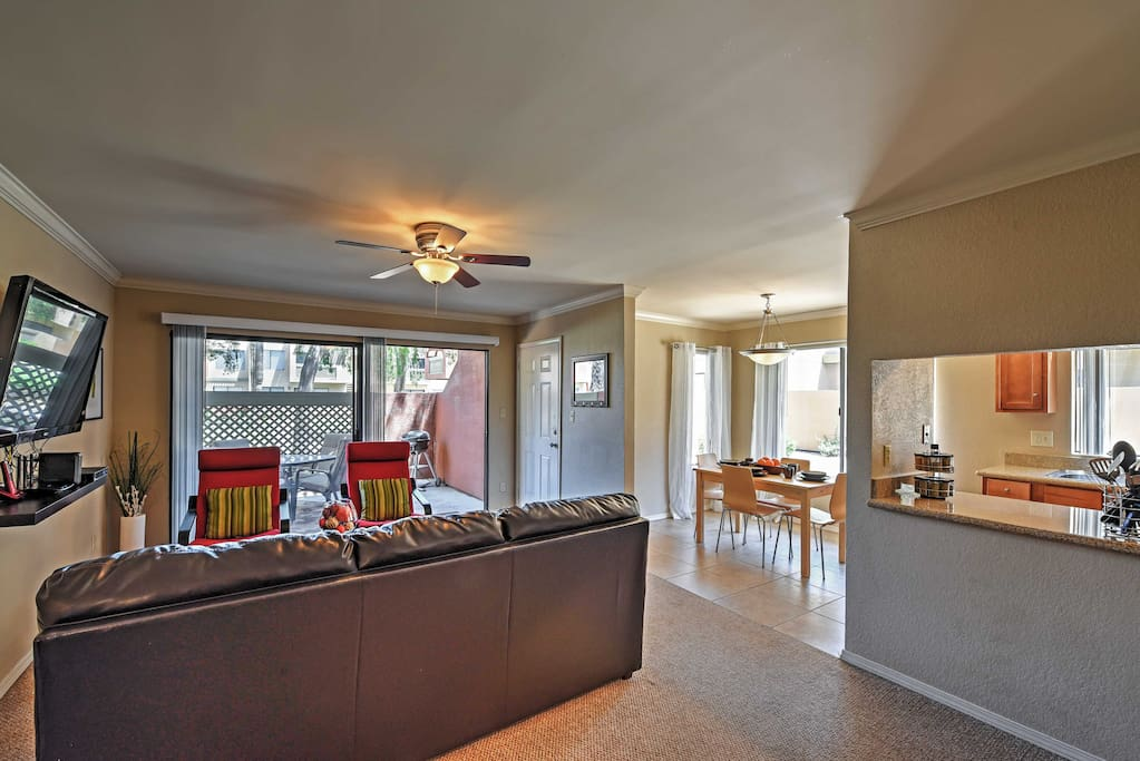 You're sure to feel right at home inside this comfortable condo.
