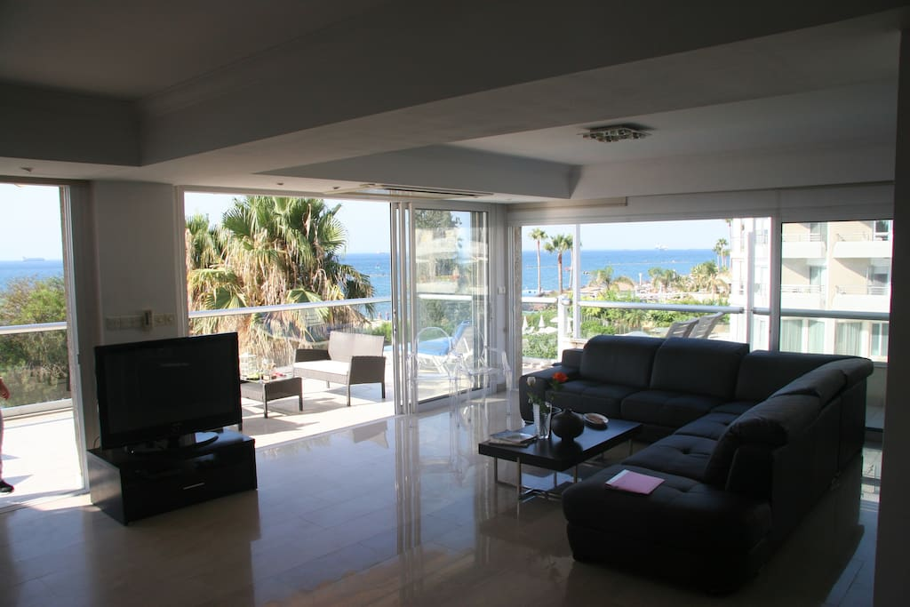 Living Room and Sea View