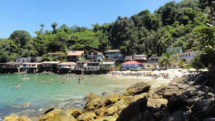 Casa de praia pé na areia,  Sorocotuba, Guarujá