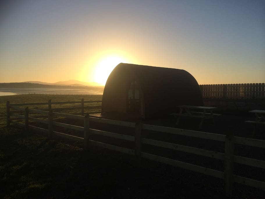 Sunrise in Mayo