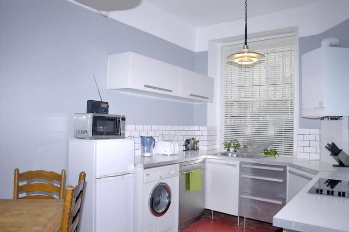HUGE ENTIRE VICTORIAN 2 bed flat Vauxhall Park