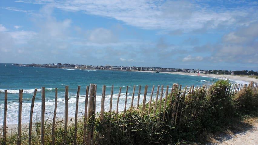 Grande maison à 5 min de la plage