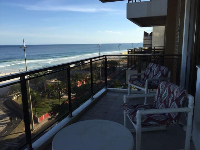 GREAT SEA VIEW APART IN BARRA PEPÊ BEACH - Barra da Tijuca - Apartment