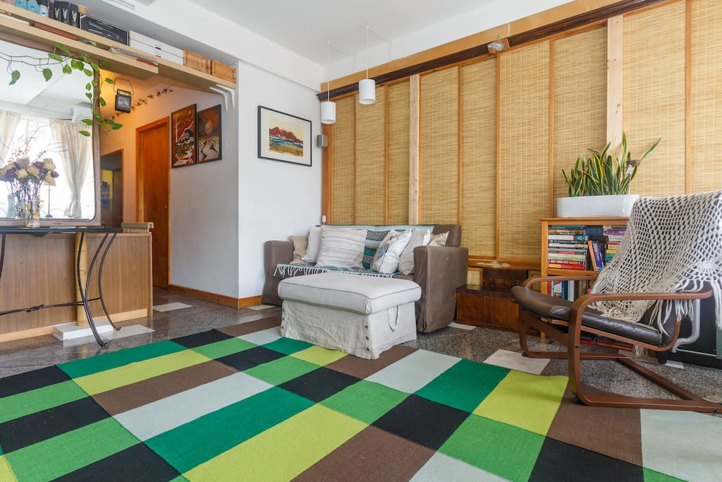 behind the sliding doors is a baby's playroom