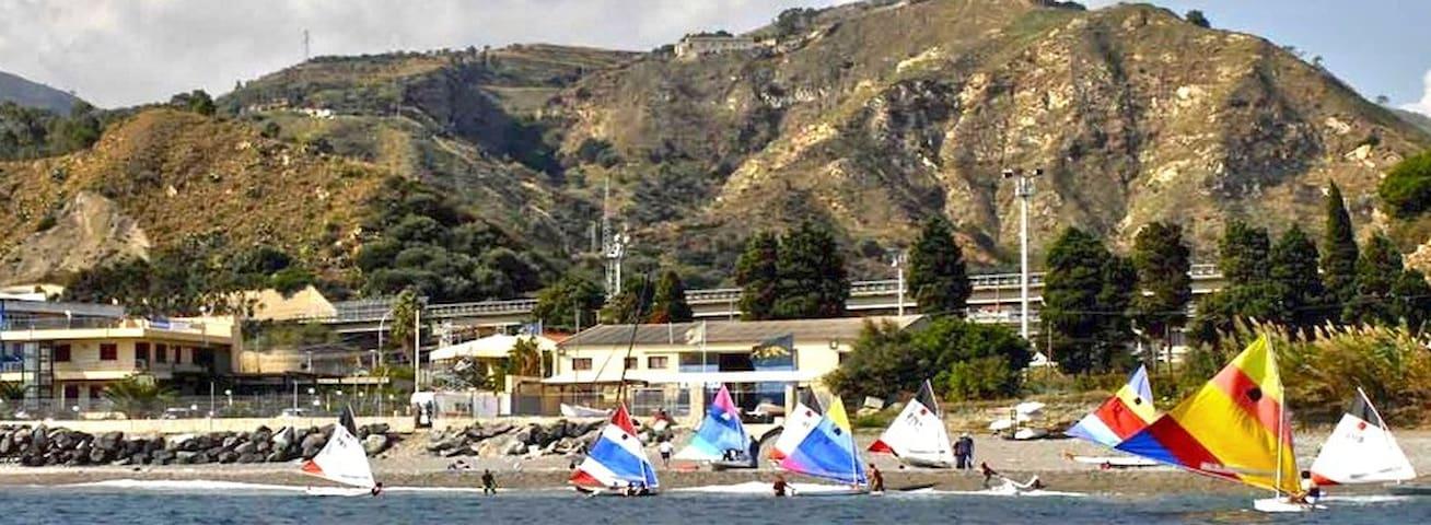 pace e tranquillità in riva al mare - Messina
