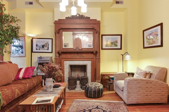 Cozy or King BR in a grand victorian