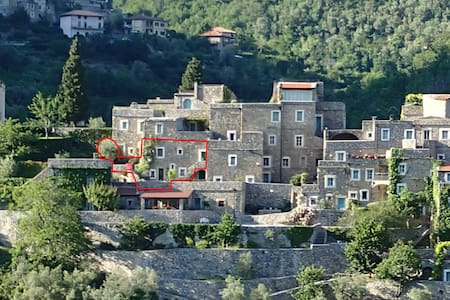 Apartment in Medieval stone village - Castelbianco - Huoneisto