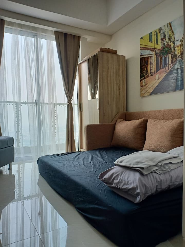 New!! Nice view studio apartment in Kelapa Gading.