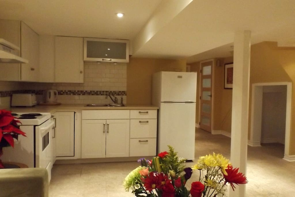 Newly renovated kitchen, all new appliances.