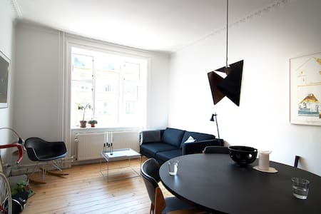Design apt in hip Nørrebro - 2BR