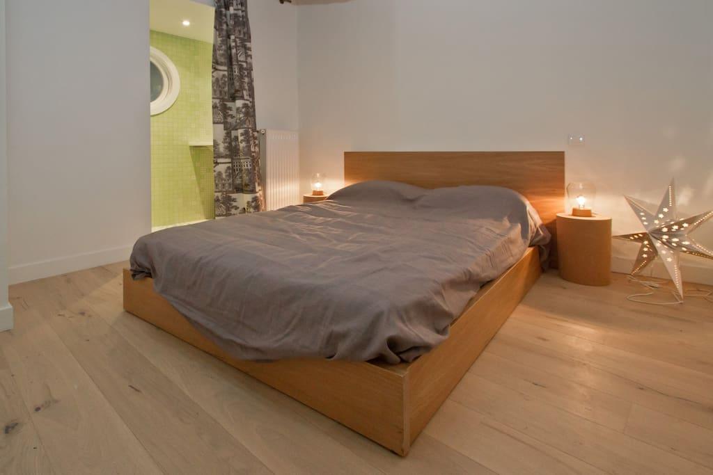 Private bedroom with en ensuite bathroom