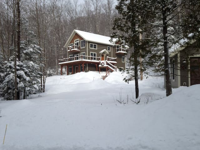 Nestled in the woods. - Lake Placid - Ev