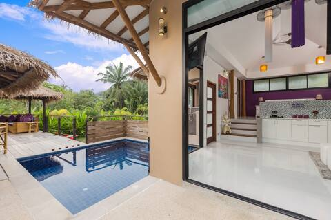 Chic Tranquil Charming Pool Chalet