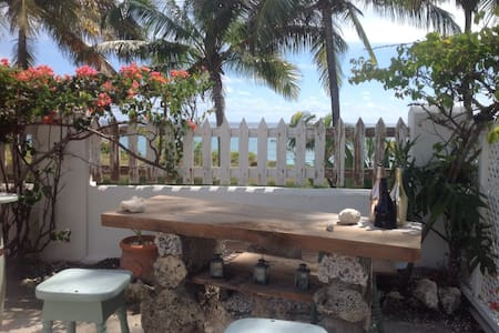 Ocean front  living at Coconut Bay 1 bed Studio - Christ Church - 公寓