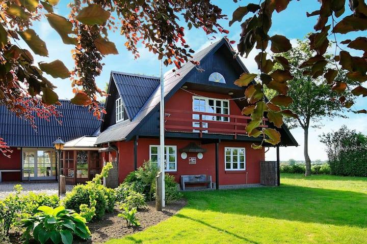 Pintoresca casa de campo en Broager cerca del mar