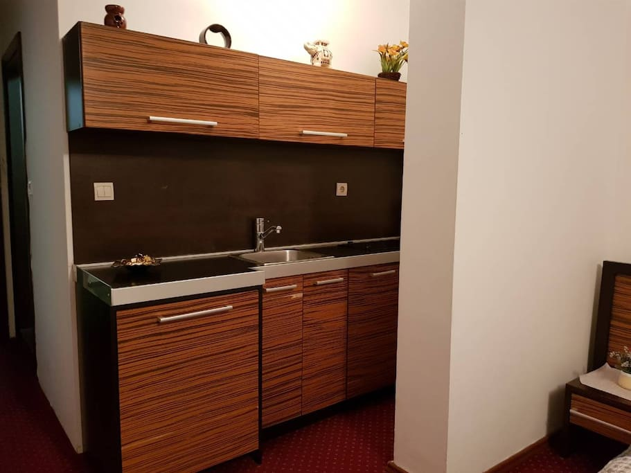 Room Kitchen with all Amenities that you need for Accommodation