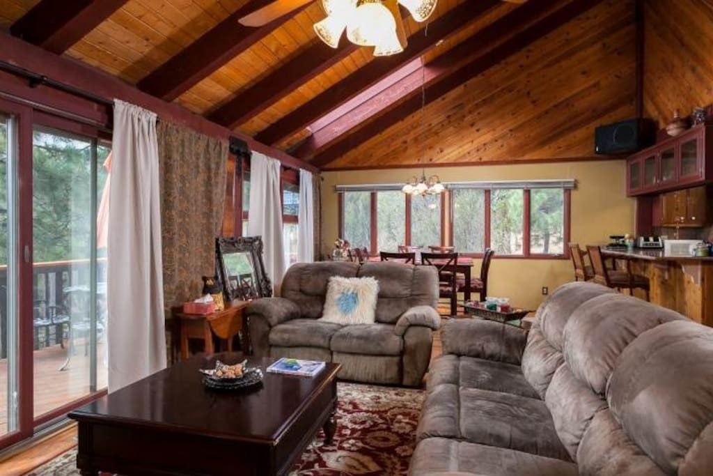 Cozy Cabin W Bear Mountain View Chalet In Affitto A Big