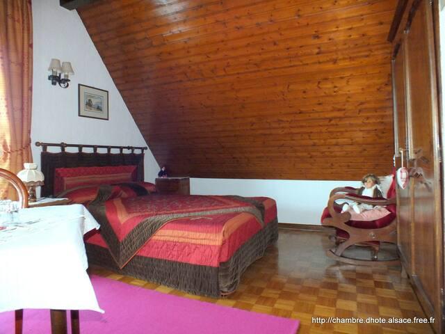 Chdhôtes Danièle & Hervé, Tilleul - Soultzbach-les-Bains - Bed & Breakfast