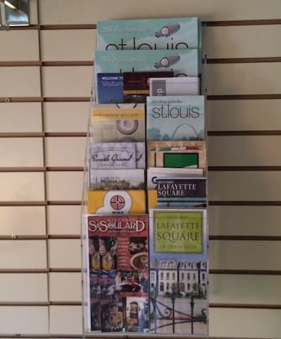 Area brochures, maps and guides
