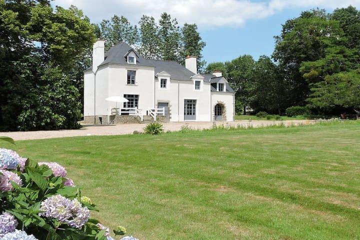 Gîte 5 chambres avec piscine chauffée - Béganne - Hus