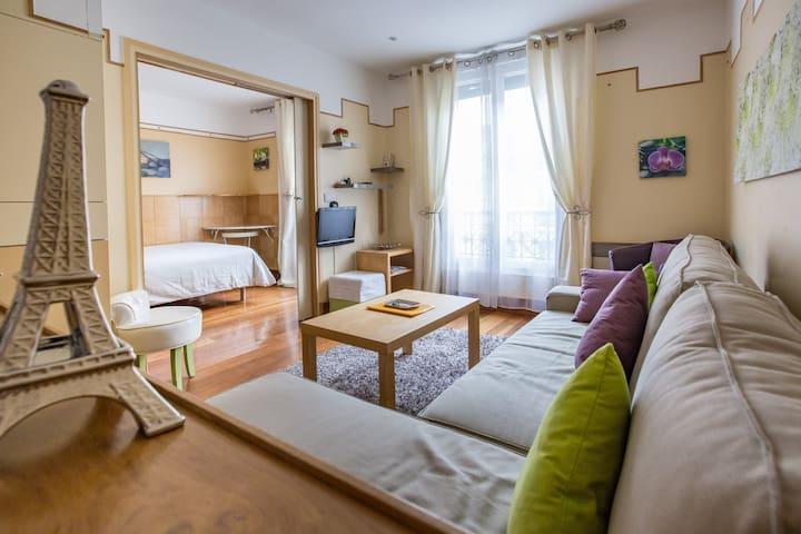 Paris charming beaubourg flat 4th - Paris-4E-Arrondissement - Appartement