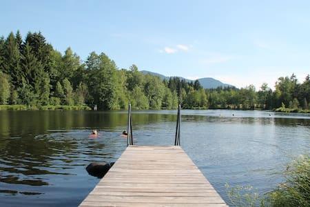 Urlaub auf dem Langerhof-Seeblick - Bad Heilbrunn