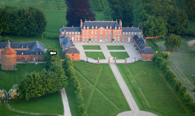 Beautiful brick house Normandie-4p - Morgny-la-Pommeraye - Castle