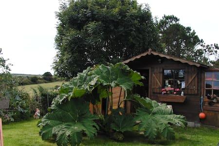 Maison de vacances avec Jardin - Saint-Germain-des-Vaux - บ้าน
