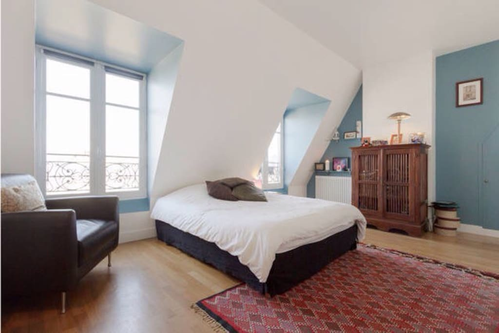 Bienvenue au 7 me ciel grande chambre zen appartements - Chambre d hote paris 7eme arrondissement ...