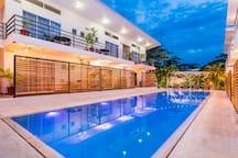 Contemporary boutique hotel with a breathtaking infinity pool with patio - adults only