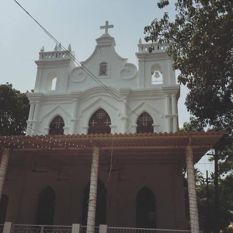 Siolim Church.