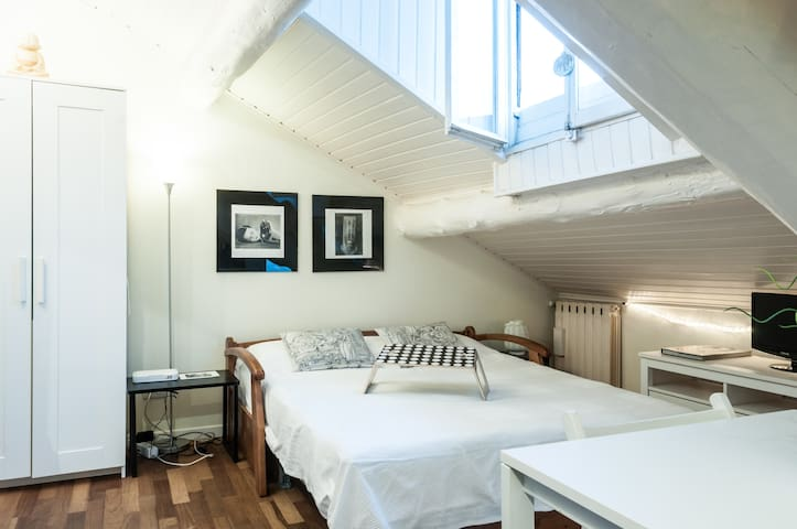 Romantic attic near the castle - Milano - Leilighet