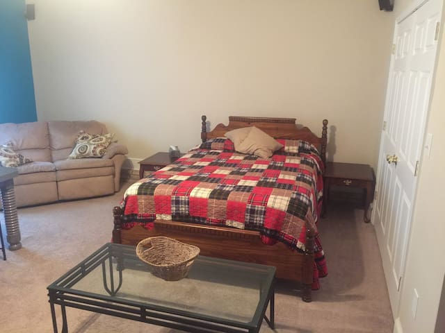Cozy Suite close to WFU & Pilot Mtn - Winston-Salem - House