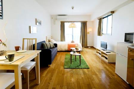 池袋駅から7分、観光にもビジネスにも。清潔で居心地の良いお部屋です - Toshima-ku - Leilighet