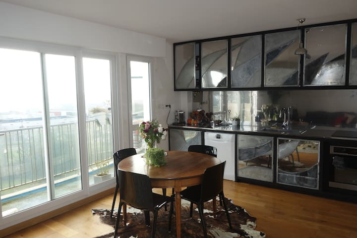 Charming place with amazing view - Caen - Apartament