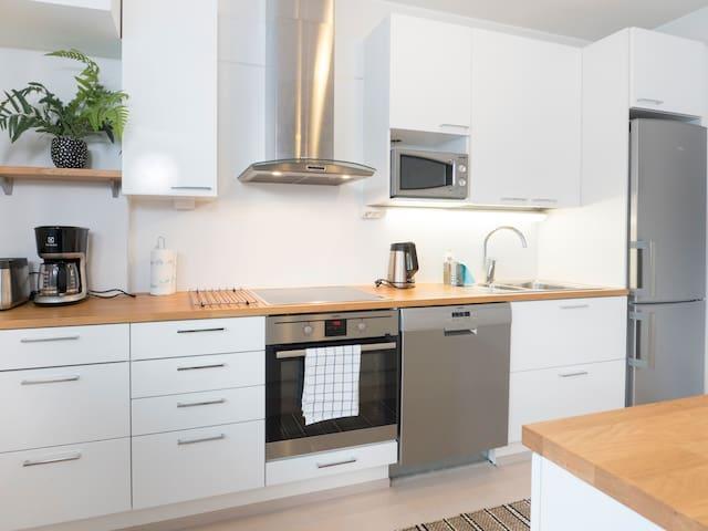Kotimaailma: Beautiful two-room apartment + sauna