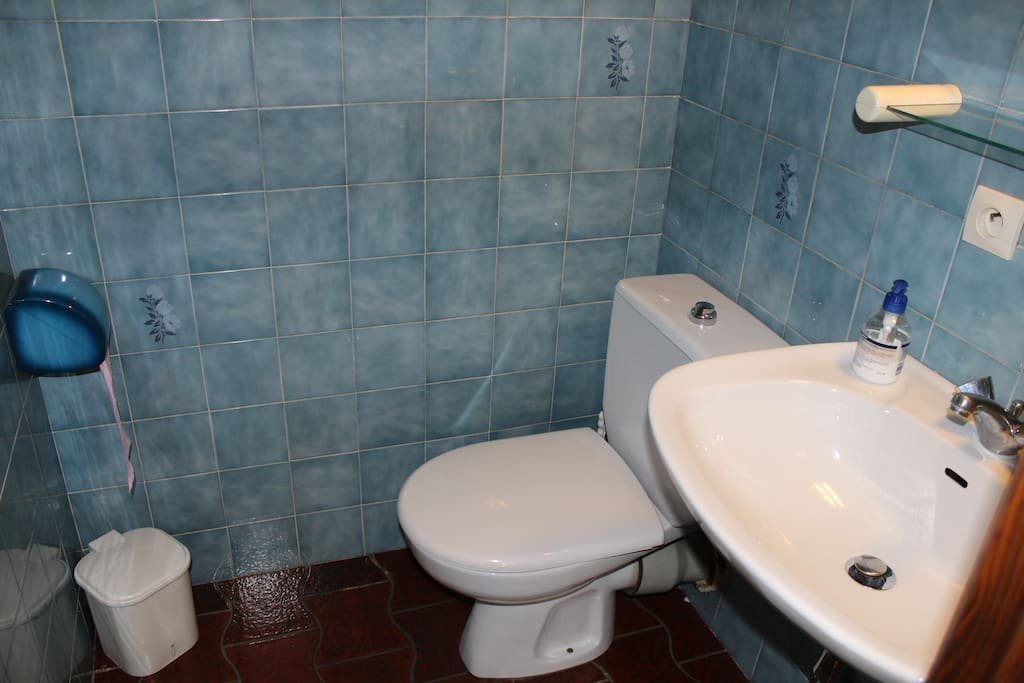 Cabine de toilette chambre 3
