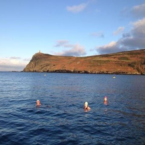 Open Water Swimming in Port Erin Bay